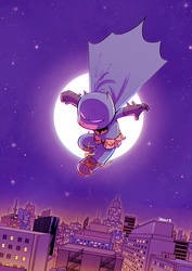 Batman by ilustrajean