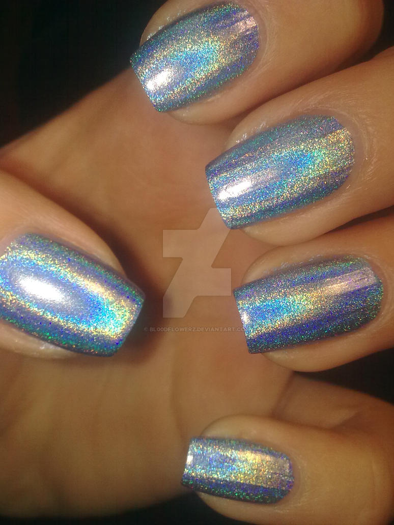 Holographic Nails: Holographic Nail Polish By Bl00dflowerz On DeviantArt