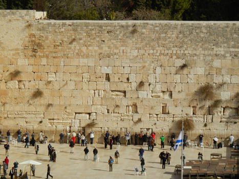 The Western Wall from Afar