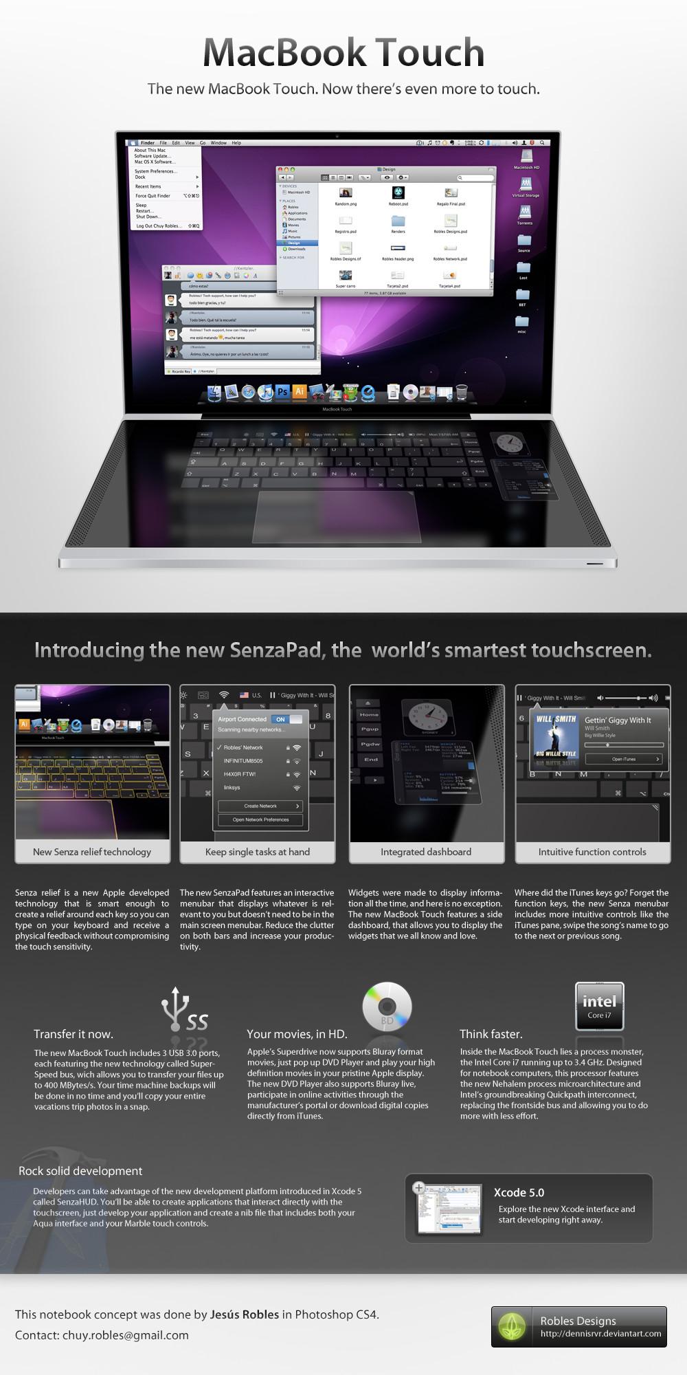 MacBook_Touch by dennisRVR