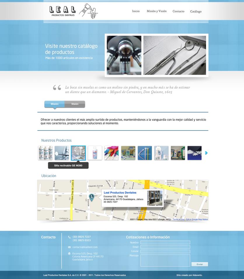 Website Commission: Lealdent by dennisRVR