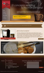 Cafe Momento - Website Commission