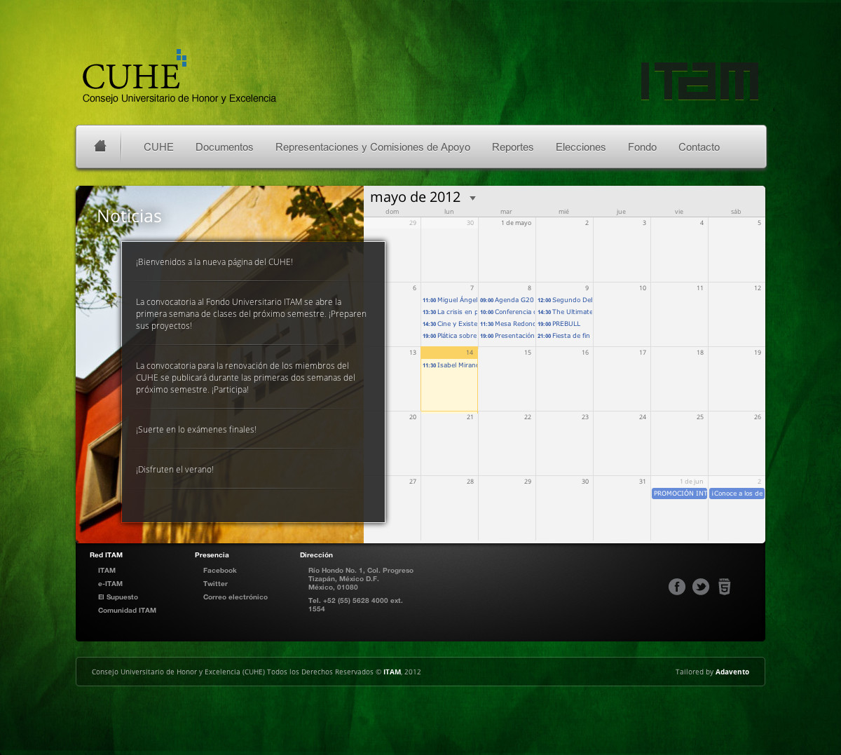 CUHE - Website Commission by dennisRVR