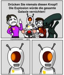 StarStarSpace Webcomic 1 (fanart) by NerdiFerdi