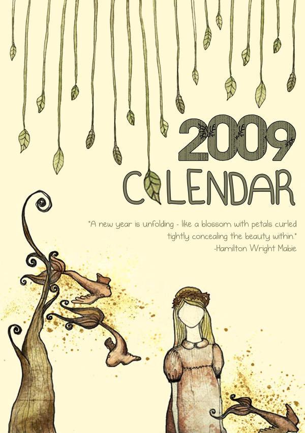 calendar cover by ol-ga