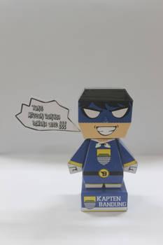 Kapten Bandung Papertoy!