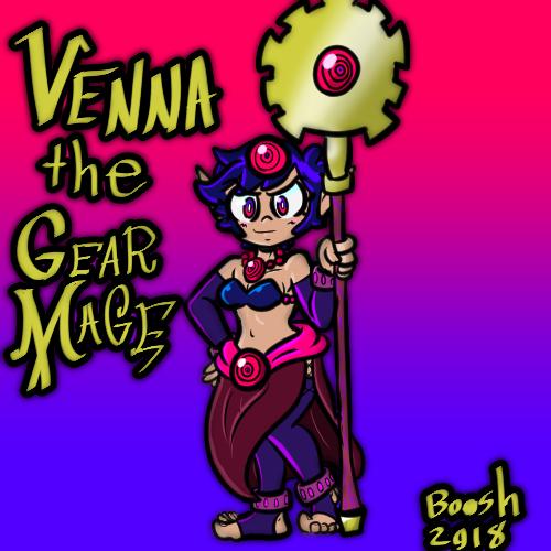Venna Warlock Form by booshDawesome