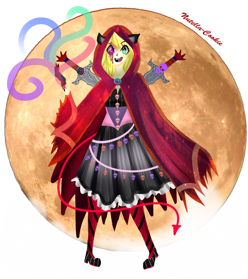 CE- Dark Red Riding Hood by Nutella-Cookie