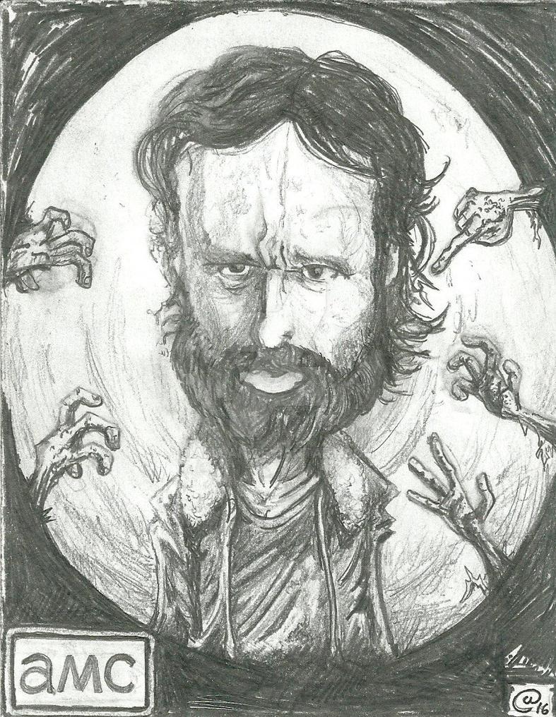 Rick Grimes by alllan