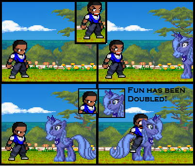 How I Became a Brony Sprite Comic by BoosttheWarrior