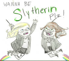 WANNA BE SLYTHERIN PLZ