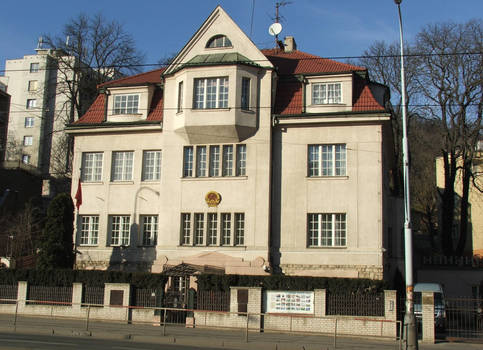 Vietnamese embassy Prague
