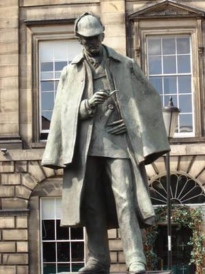 Sherlock Holmes Statue by presterjohn1