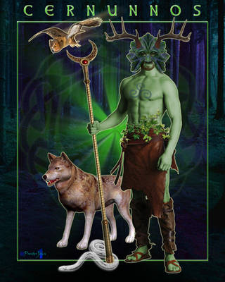 Cernunnos - Celtic Forest God by presterjohn1