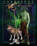 Cernunnos - Celtic Forest God by presterjohn1