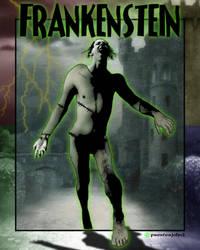 The Frankenstein Monster by presterjohn1