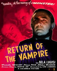 Return Of The Vampire by presterjohn1