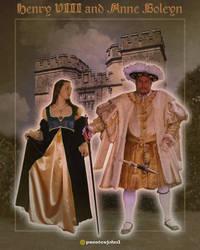 Henry VIII + Anne Boleyn by presterjohn1