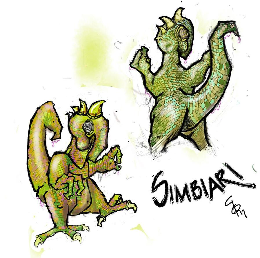 A Simbiari (green leaky freaky).  by bushskater