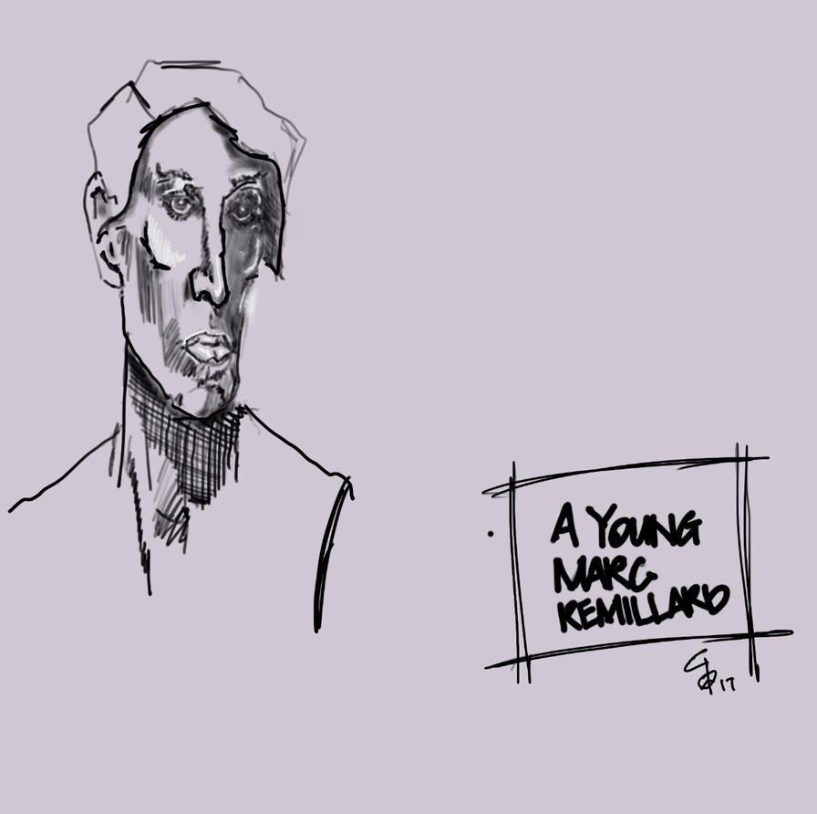 A young Marc Remillard wuick concept sketch by bushskater