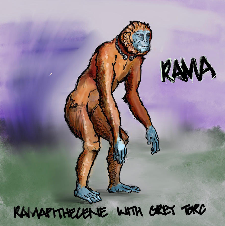 Ramapithecine or rama. by bushskater