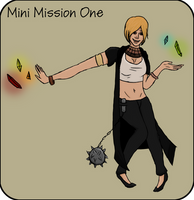 OI: Mini Mission One by GothicOrVintage