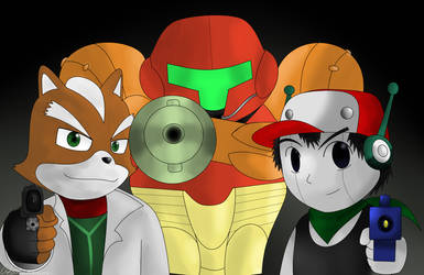 The Three Shooters by MasterHandG465