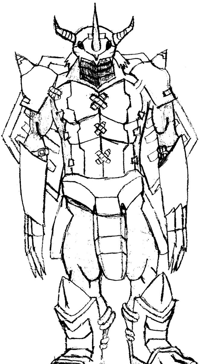 digimon data squad coloring pages   Digimon Wargreymon X Coloring Pages Coloring Pages