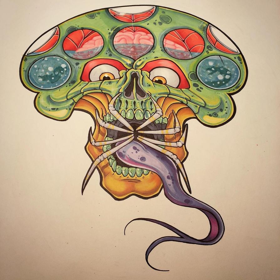 1 evil mushroom by inspiredartist69 on DeviantArt