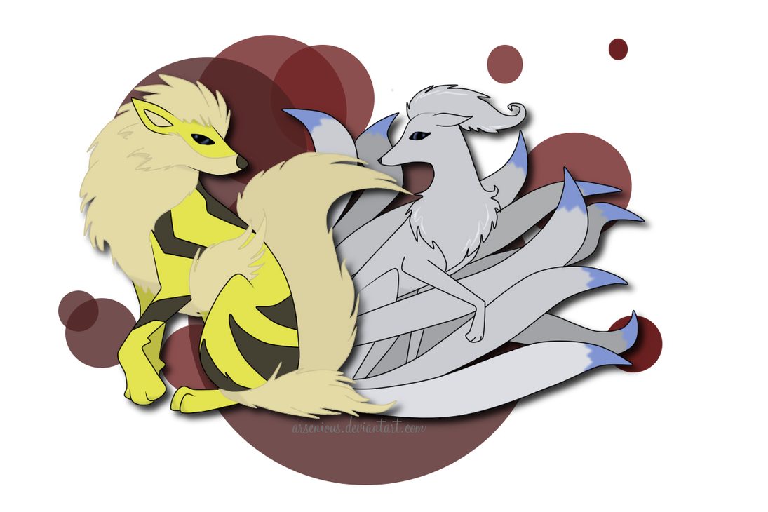 Arcanine and Ninetails...