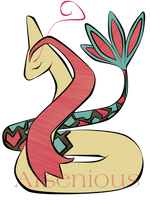 Milotic by Arsenious