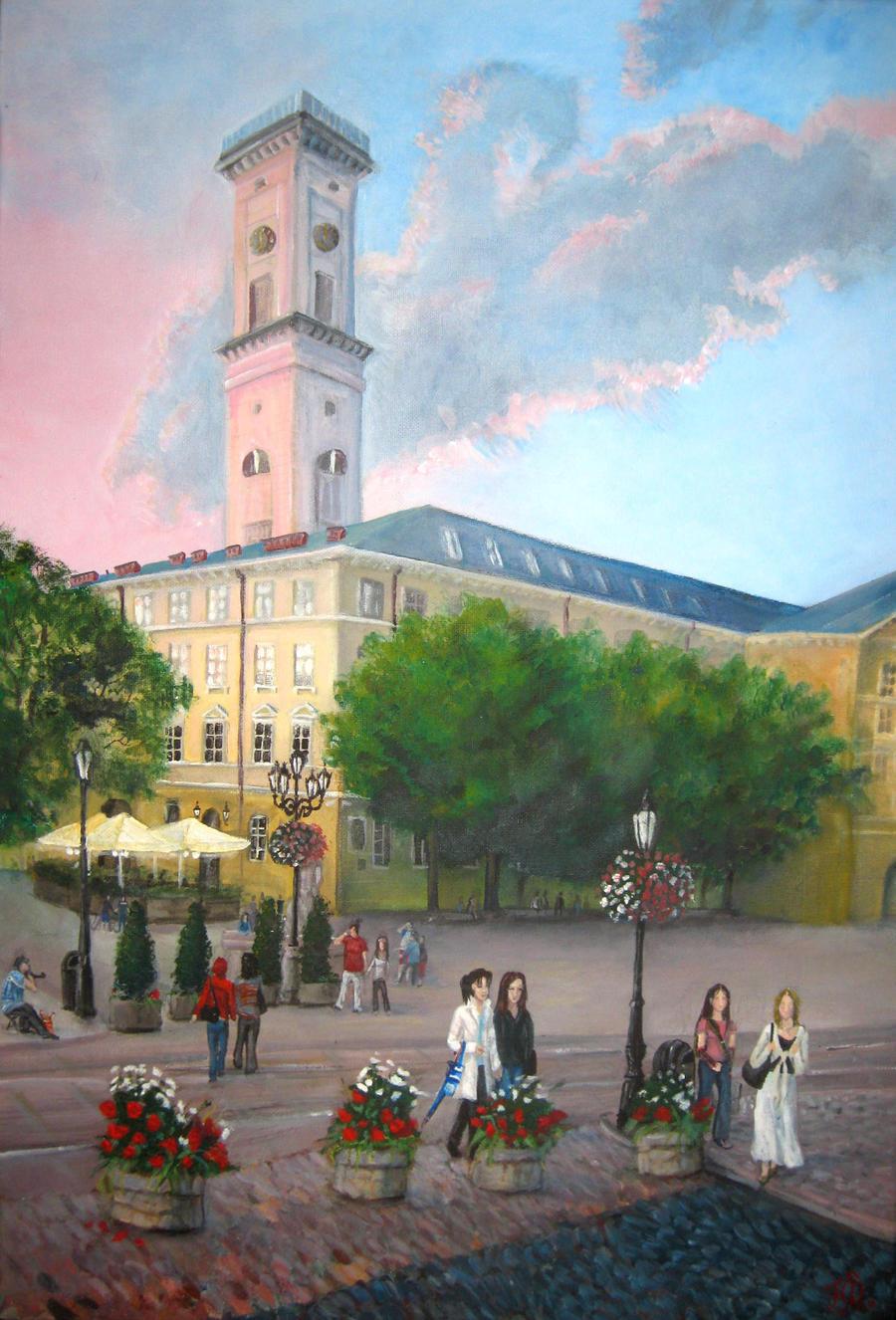 Lviv by Redilion