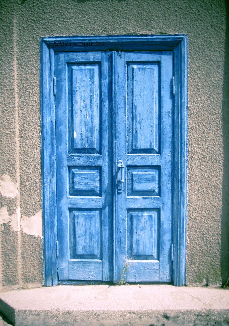 Blue door by Redilion Blue door by Redilion & Blue door by Redilion on DeviantArt