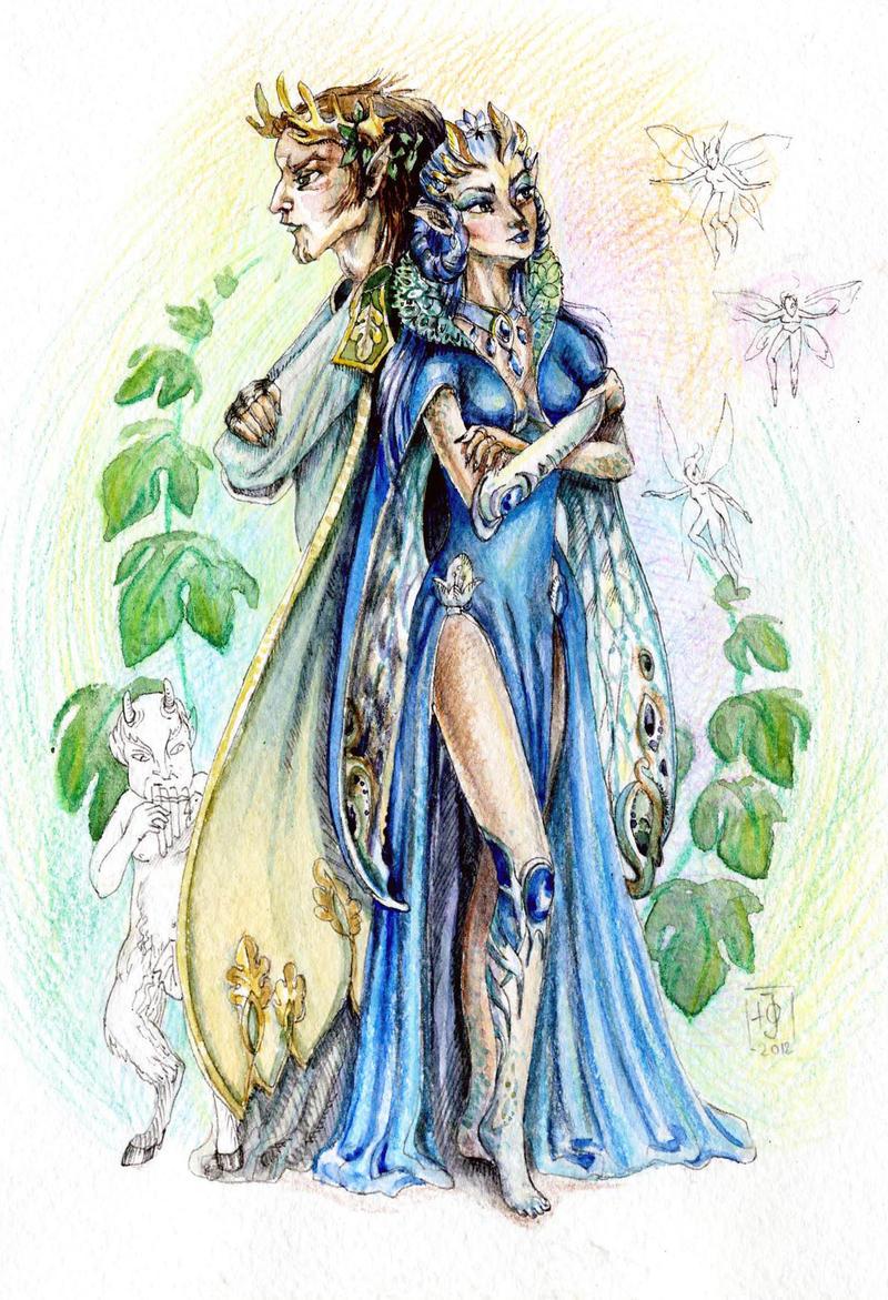Oberon and Titania