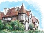 Art-Nouveau house