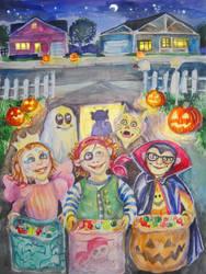 Halloween treats by Redilion