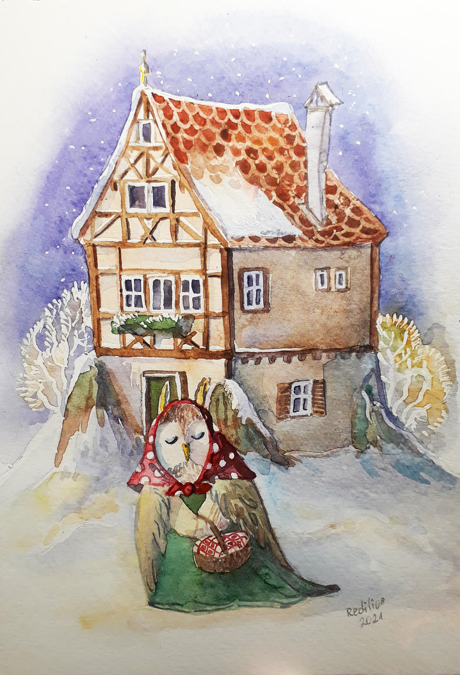 Owl Witch House