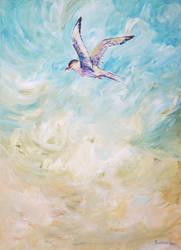 Migratory Birds 1 Arctic Tern by Redilion