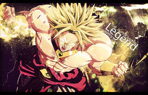 Broly Signature Gift by Onyxceptable