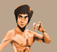 Bruce Lee by mEnvY