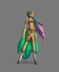 Butterfly Girl - Original Character