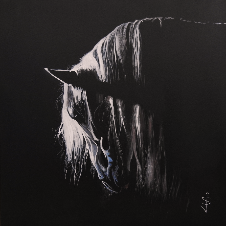 Twilight Stallion by NorthumbrianArtist