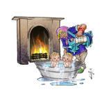 Pinnie Hinnies Bath time