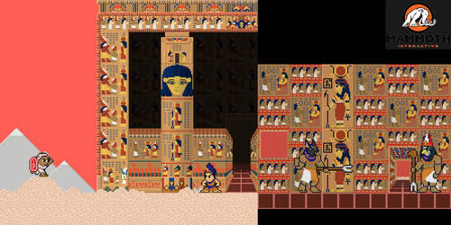 Commission: Egyptian Temple