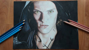 Drawing of Jace Herondale from Shadowhunter