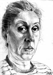 A woman by DreddaBrutallac