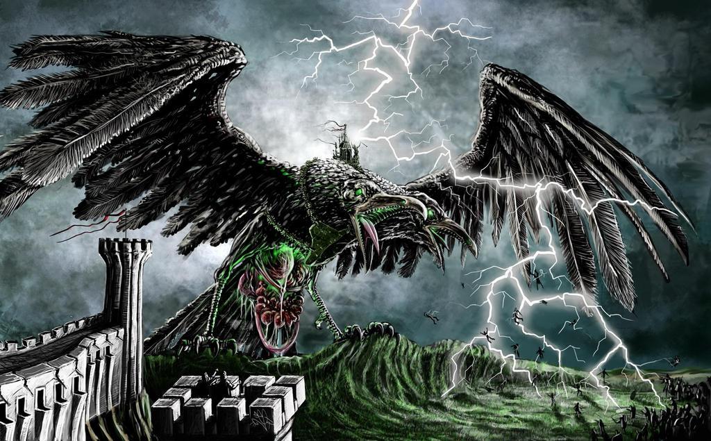 Death Colossus by DreddaBrutallac
