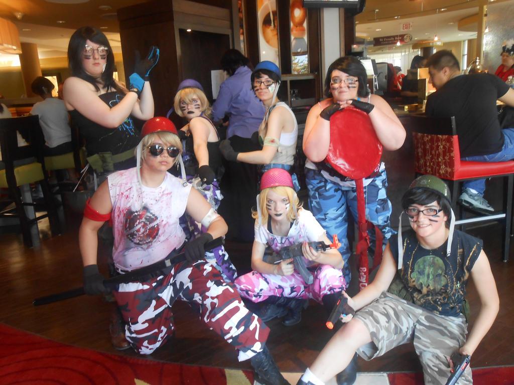Anime Mid-Atlantic 2013 Armystuck by boo-boo8