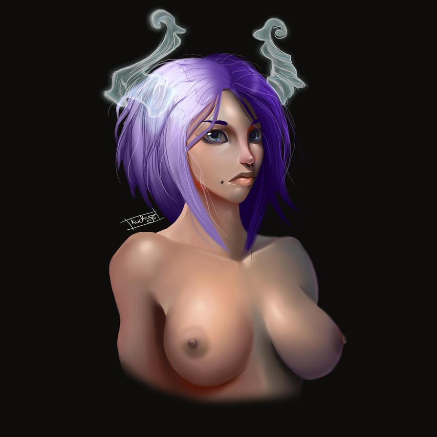 Demoness by Kuckyz