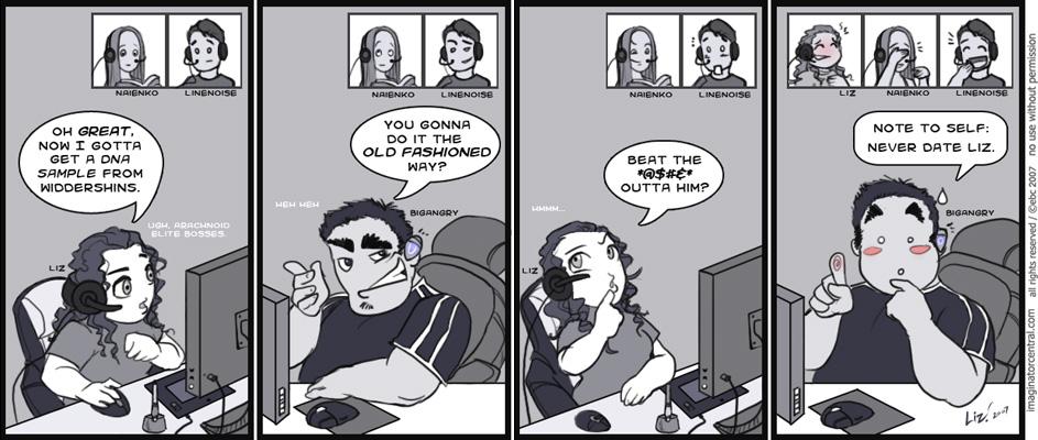 Lustomic комиксы
